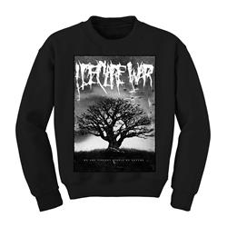 Album Art Black Crewneck Sweatshirt