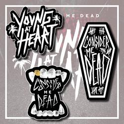 Young At Heart Sticker Pack (3)