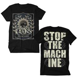 Stop The Machine Black Sale! Final Print! $6 Sale