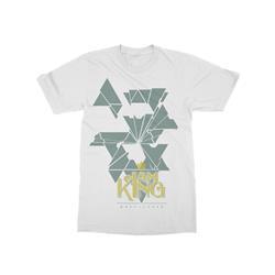 Shattered White T-Shirt