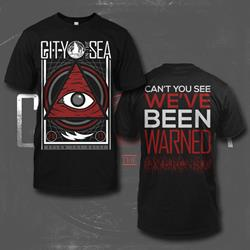 All Seeing Eye Black T-Shirt