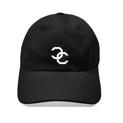CC Logo Black Dad Hat