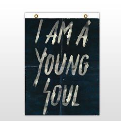 I Am A Young Soul  Flag