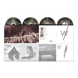 The Rise Years Metallic Silver With Black Starburst Vinyl 4Xlp
