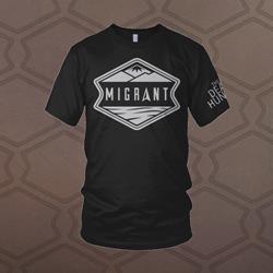 Migrant Black T-Shirt