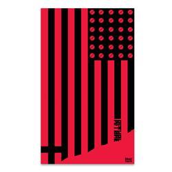 Ritual Flag Red & Black