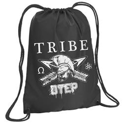Tribe Black Cinch Bag