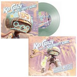Kid Crazy and The Kilowatt King Book/Vinyl