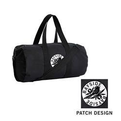 Logo Black Duffel Bag
