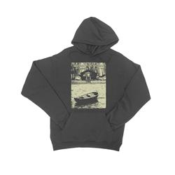 Lake Charcoal Hooded Sweatshirt