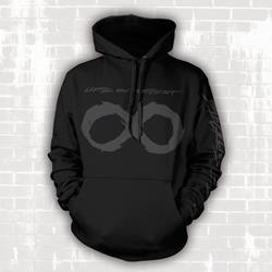 Blacklisted Black Hooded Sweatshirt