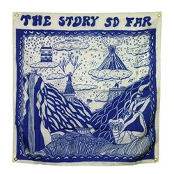 The Story So Far Album White Wall Flag