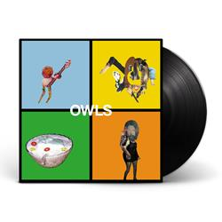 Owls - Self Titled - Black LP Vinyl