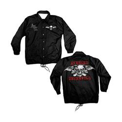 Dead Head Black Windbreaker