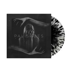 Self Titled Half Clear/Half Grey with Black Splatter