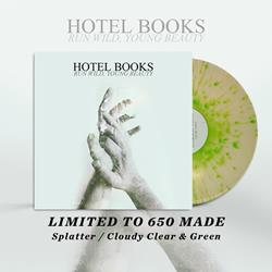Run Wild, Young Beauty Cloudy Clear/Green Splatter LP