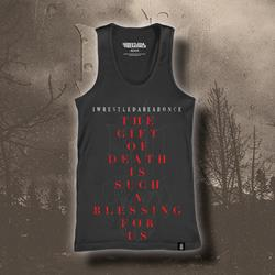 Gift Of Death Black Tank Top