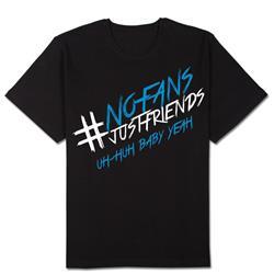 No Fans Just Friends Black