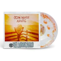 Ocean Avenue Acoustic White/Orange Smash