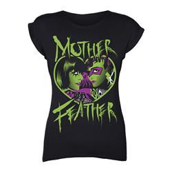 Heart Black Girl's T-Shirt