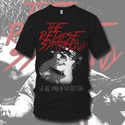 Broken Guitar Black T-Shirt