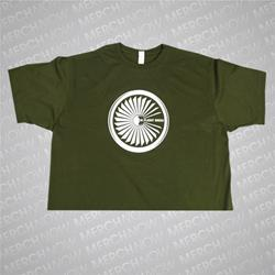 Jet Engine Army Green