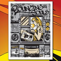 Bouncing Souls - Jersey Turnpike Screen Printed Poster