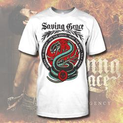 Serpent White T-Shirt