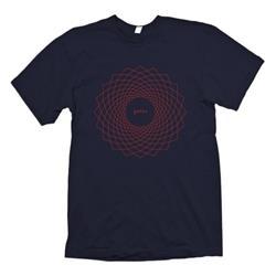 Geometric Navy T-Shirt