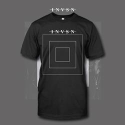 Square Charcoal Grey T-Shirt