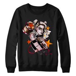 Harley Black Crewneck Small