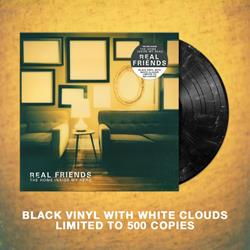 The Home Inside My Head Black w/ White Clouds Vinyl