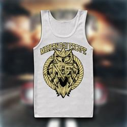 Owl White TankTop