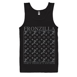 Party People's Anthem Black Tank Top