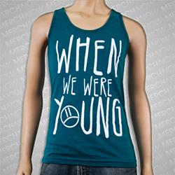 When We Were Young Tri-Evergreen Tank Top