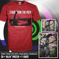 Subliminal Criminals CD + T-Shirt + Poster