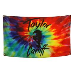 Taylor Face Tie Dye Flag