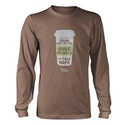 Drink Lattes, Save Animals Light Brown