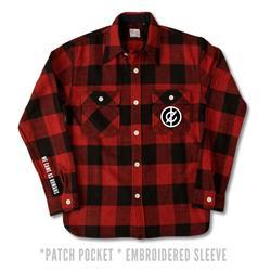 Custom Red/Black Flannel