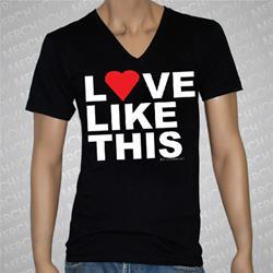 Love Like This V-Neck Black
