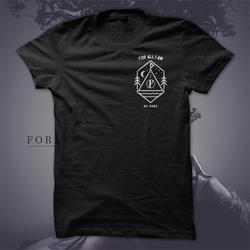 No Home Tipi Black T-Shirt