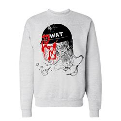 SWAT Heather Grey Crewneck