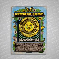Summer Camp 2012 Screen Printed  W/ Tube