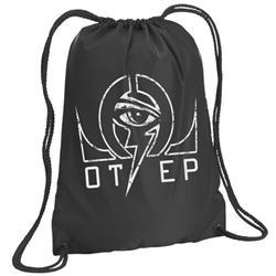 Omega Black Cinch Bag
