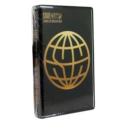 Around The World And Back Clear W/ Gold Glitter Cassette