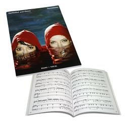 Secretions Signed Sheet Music