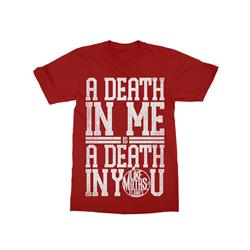 A Death In Me Red T-Shirt