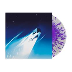 The Satellite Years Clear & Purple Splatter