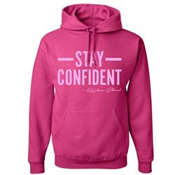Stay Confident Pink Tie Dye