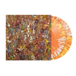 Tree City Sessions Half Mustard/Half Clear With Orange Splatter Vinyl 2Xlp